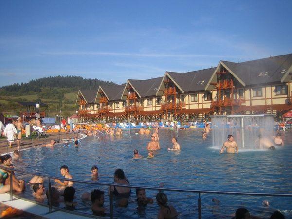 Пансионат в Словакии, в центре знаменитого курорта (аналог Минеральных вод в России)