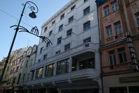Здание под отель 2500 кв.м. в Карловых Варах на пешей улице