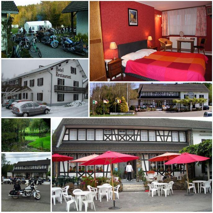 Гостиница с рестораном в Бельгии, рядом с Германией и Люксембургом.
