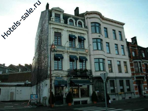 Гостиница в стиле старого Парижа в Бельгии, в Вервье, на границе с Германией (Аахен).