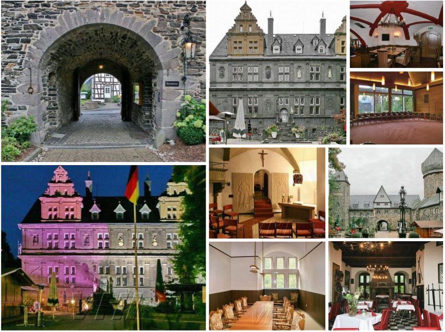 Замок в 120 км от Франкфурта на Майне, Германия