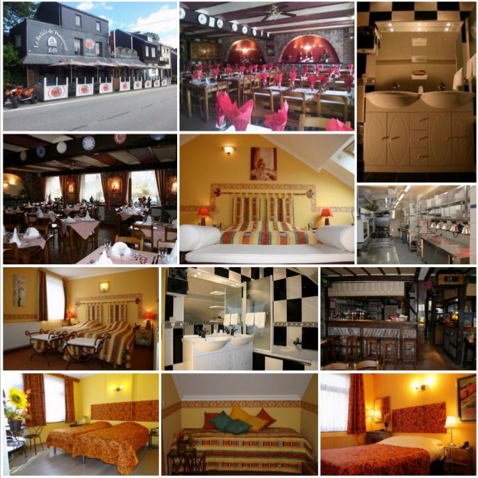 Гостиница с рестораном рядом с бельгийском курорте СПА.