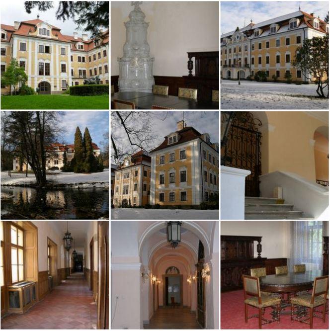 Величественный замок в стиле барокко в Чехии