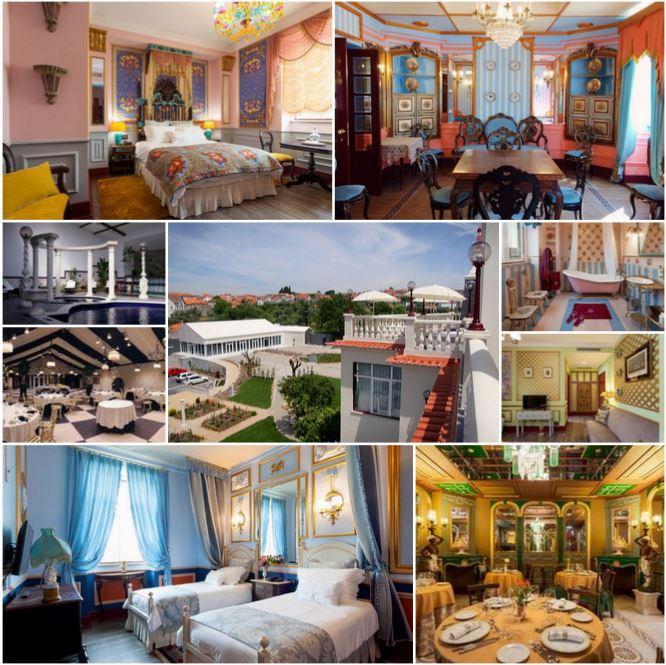 Красивый отель 5 *****, в самом сердце Португалии