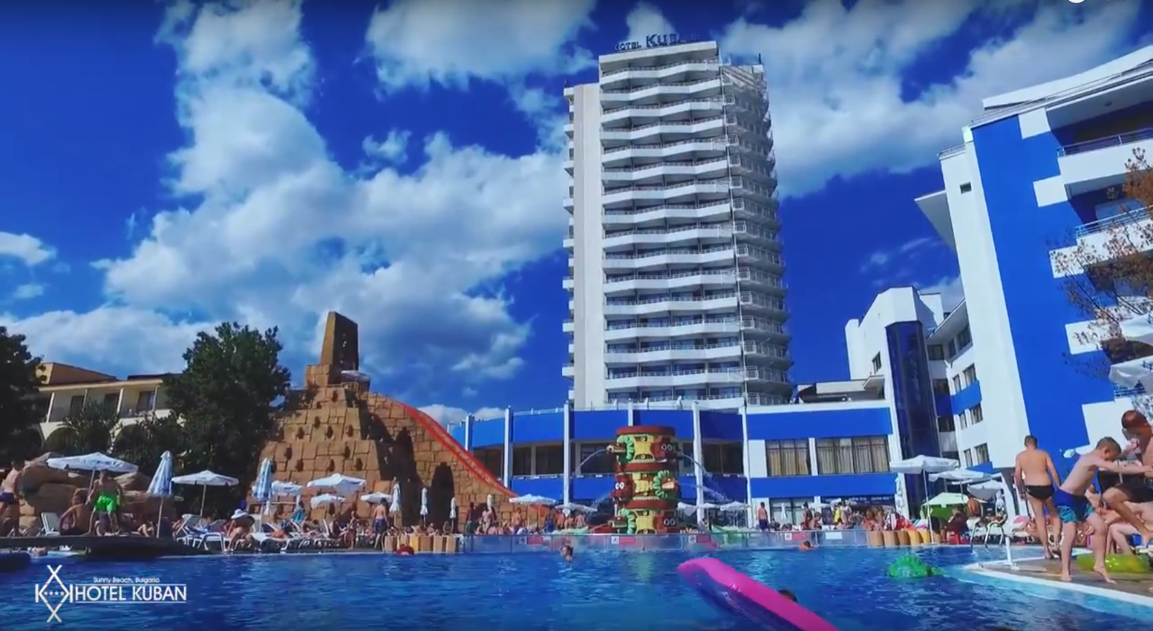 Гостиничный комплекс в Болгарии на побережье