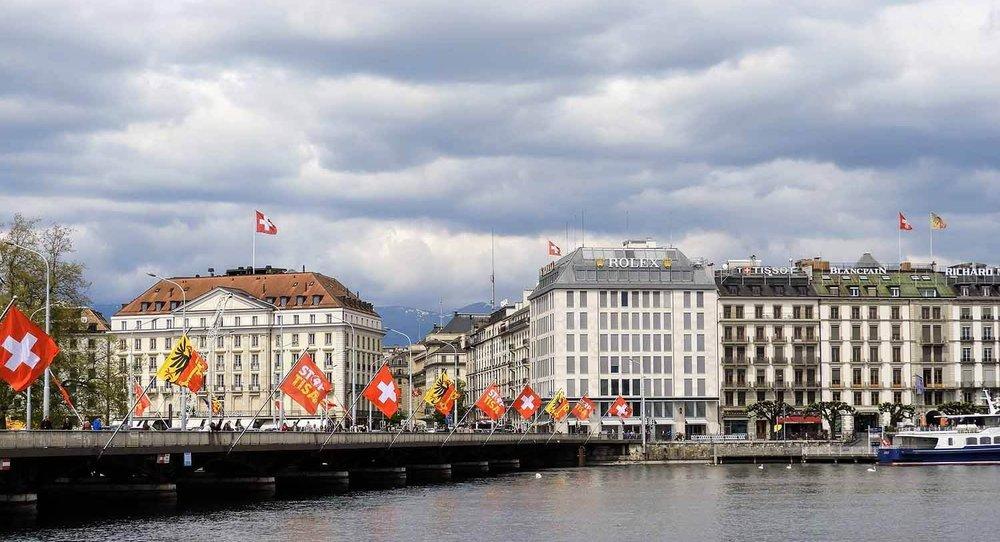 Меблированная гостиница для студентов в центре Женевы, Швейцария.