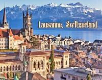 Гостиница с рестораном в Лозанне, Швейцария.