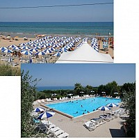 Великолепный ресорт отель у моря в Италии, у песчаного пляжа