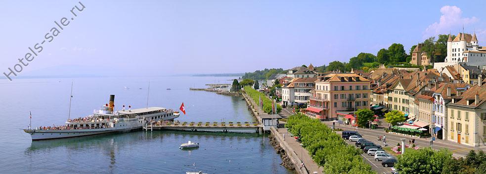Рядом с Женевой в Швейцарии гостиница-ресторан, ставшая легендой - полная продажа!