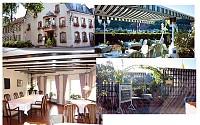 Хорошо известный ресторан в центре Трира, в Германии, на границе с Люксембургом