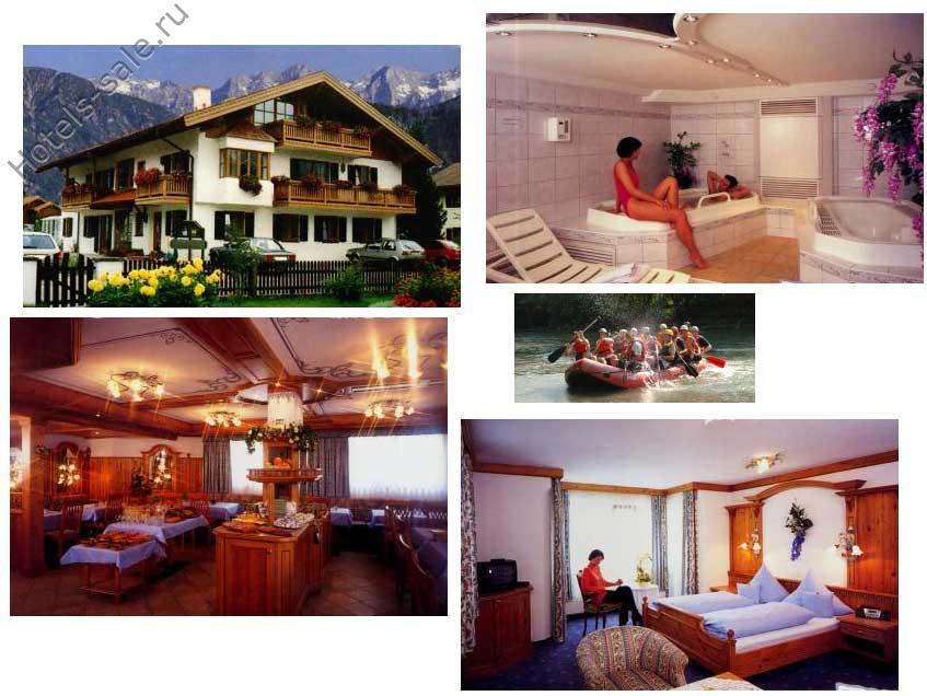 Пенсион системы Гарни в знаменитом немецком горном курорте