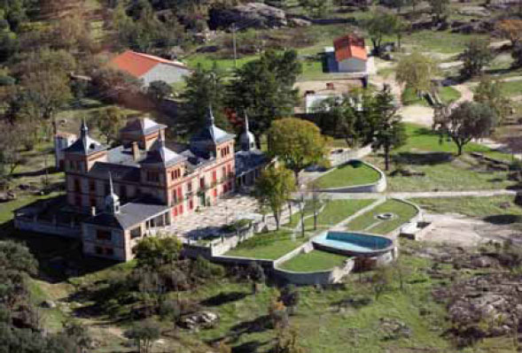 Гостиница - дворец в пригороде Мадрида