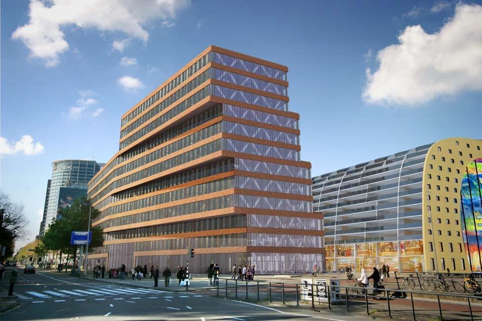 Крупный коммерческий объект с высокой рентабельностью в Роттердаме