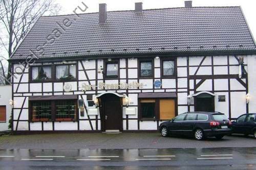 В Германии в Реклинхаузене, Сев. Вестфалия, продается большой в традиционном стиле ресторан