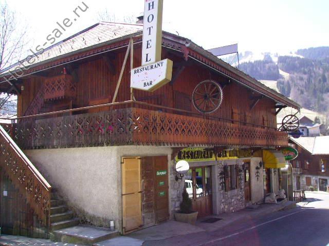 Гостиница, ресторан, бар, дискотека в Высокой Савойе во Франции, рядом с Женевой