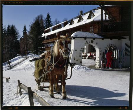 Гостиница в самом большом горнолыжном районе Италии, в Альпийских Доломитах