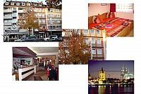 Гостиница в Кельне на известной коммерческой улице, Германия