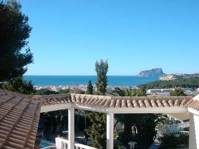 Шикарный отель - пенсион с рестораном, баром, бассейном, рядом с морем, на Коста Бланке, Морайра