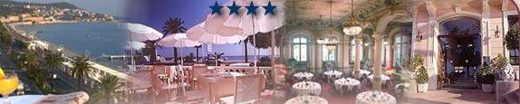 Гостиница 4 звезды на побережье моря в Ницце, класс высокий люкс