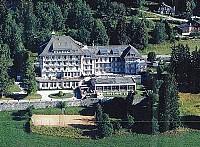 Величественный Гран Отель в Швейцарии, в кантоне Во (столица Лозанна)