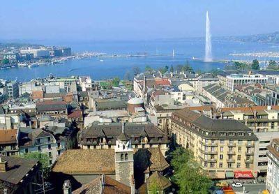 Известная гостиница в Женеве