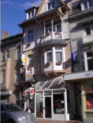 Гостиница на бельгийском побережье Северного моря