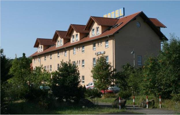 Бизнес-мотель в окрестностях Франкфурта на Майне, федеральная земля - Гессен, центр Германии