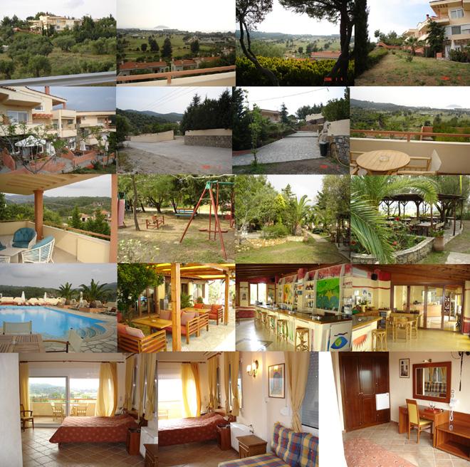 Гостиница в Греции