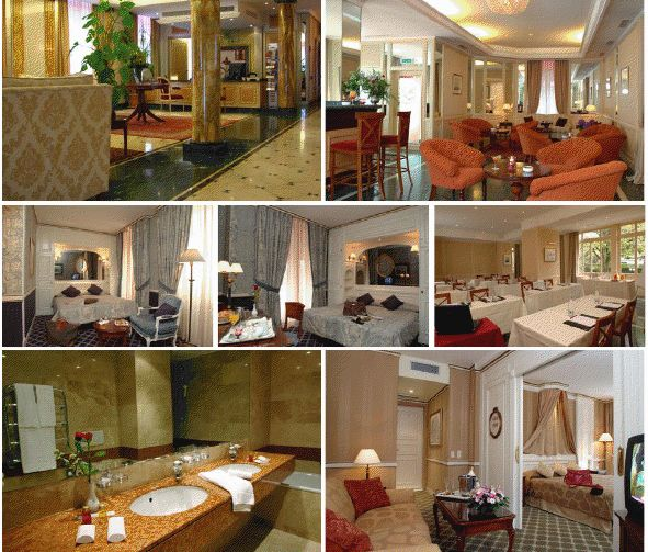 4 звездочная гостиница в Лозанне, Кантон ВО, Швейцария.