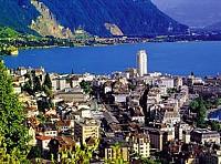 В Монтре, прямо у озера с поражающей панорамой продается гостиница 4 звезды