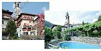 Гостиничный комплекс с рестораном в итальянском кантоне Швейцарии