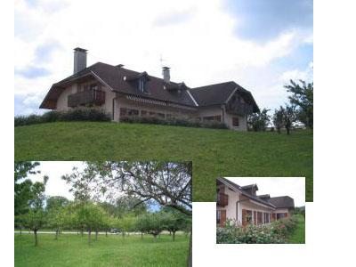 Рядом с Женевой великолепный дом с большим участком