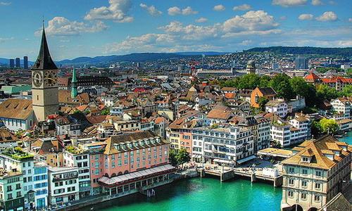 Бизнес в области информационных технологий в Швейцарии, в Цюрихском регионе