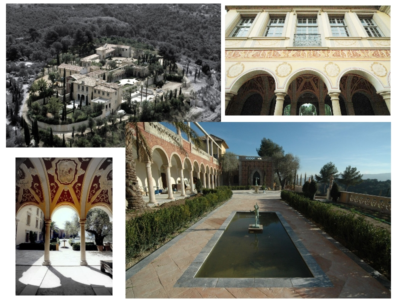 Венецианский Дворец, расположенный между Каннами и Мужаном (места жительства Пикассо) на Лазурном побережье во Франции.