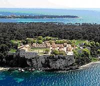 Концессия на острове Маргарита на Лазурном берегу, в 700 м напротив Дворца кинофестивалей в Каннах