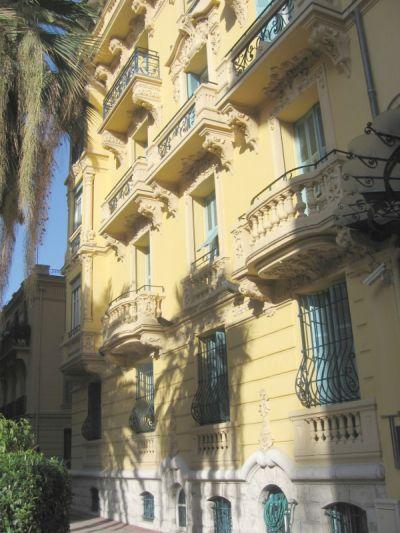 Гостиница в центре Ниццы, на Лазурном берегу, Франция.