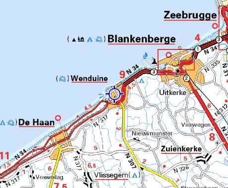 В Бельгии продается 4 этажная гостиница, у Северного моря.