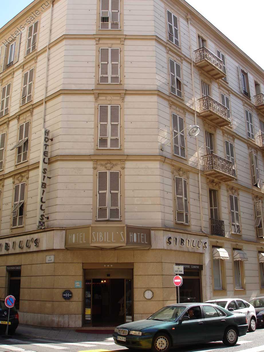 Трехзвездочная гостиница в центре Ниццы