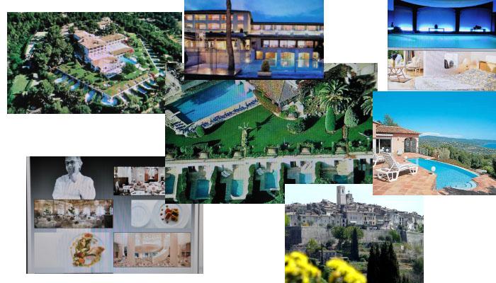 Гостиница - водолечебница, спа 4 звезды на Лазурном побережье Франции - полный и абсолютный раритет - в 10 - 15 мин. от морских пляжей.