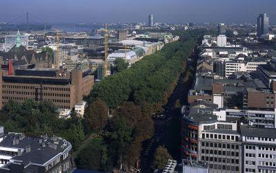 Великолепный апарт отель люксус стиля в самом центре Дюссельдорфа