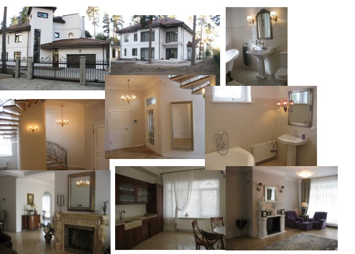 Предлагается к продаже особняк в элитном поселке Ezerkrasts, 12 km от центра Риги - раритет в Европейской стране, возможно ВНЖ.