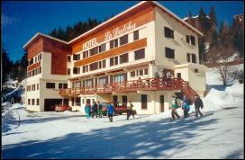 Гостиница ресторан 2 звезды на горнолыжном олимпийском курорте Франции