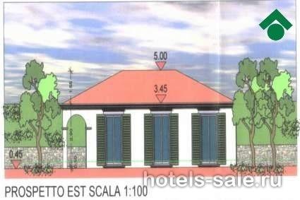 Участок с разрешением на строительство виллы в Сан Ремо (Педжо), Италия, в 10 мин. от моря и ухоженных пляжей.