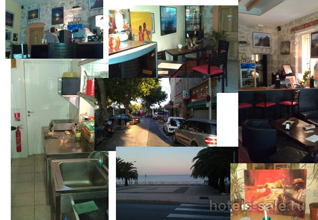 Ресторан – бар в Ментоне, «маленьком Монако», в 80 м от моря и пляжей – редчайший вариант, не упустить своего шанса.