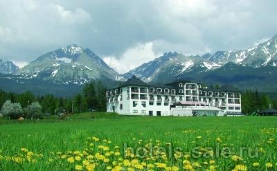 Гостиница 4 звезды, в Высоких Татрах, Словакия