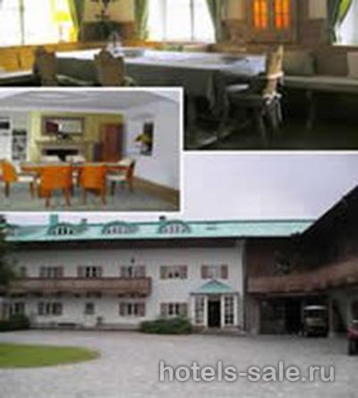 Бизнес-гостиница с видом на горы и горное Химозеро, Бавария, Германия