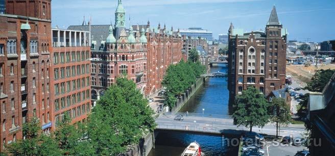 Четырехзвездочный отель в городе Гамбург