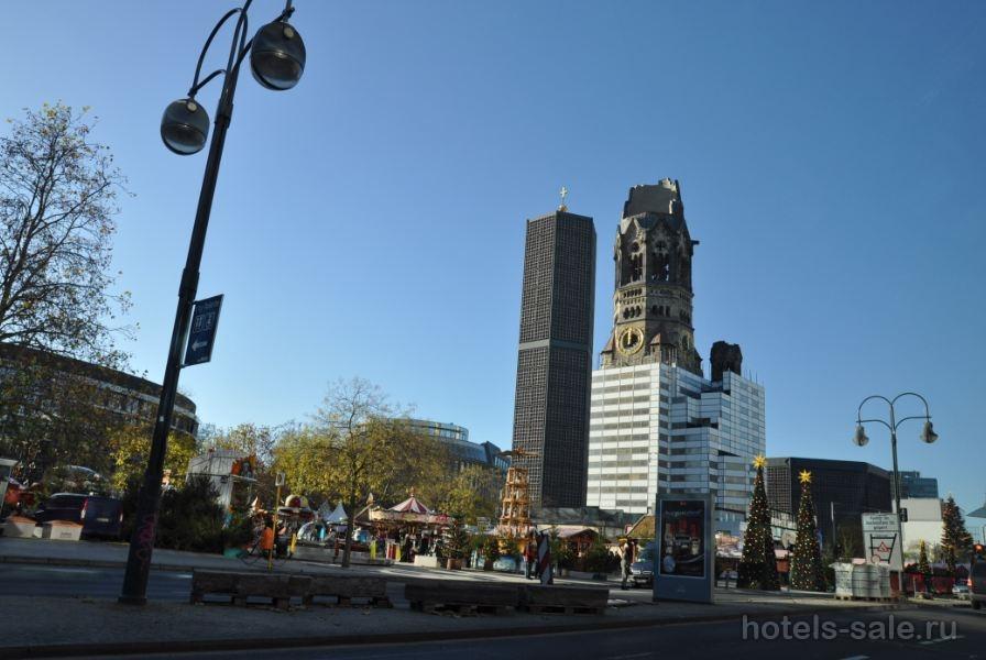 Трехзвездочный отель в Берлине