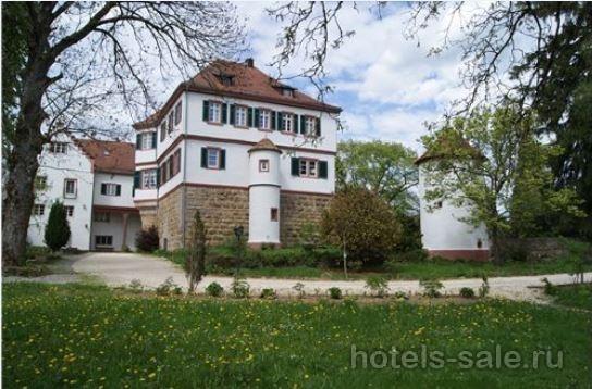 Замок в стиле ренессанс на юге Германии