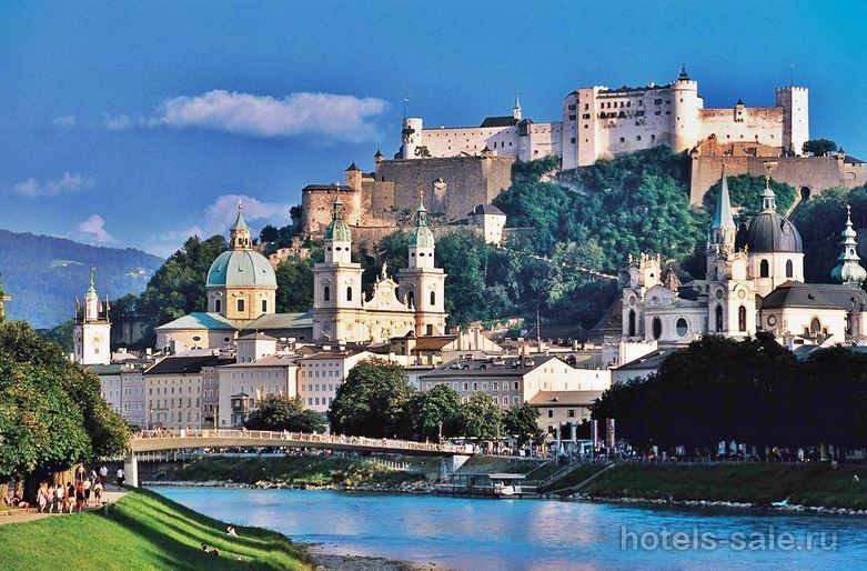 Гостиница 4 звезды в городе Моцарта - Зальцбурге, Австрия
